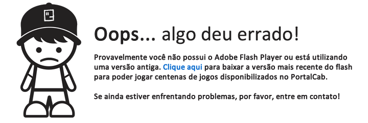Flash Player não detectado